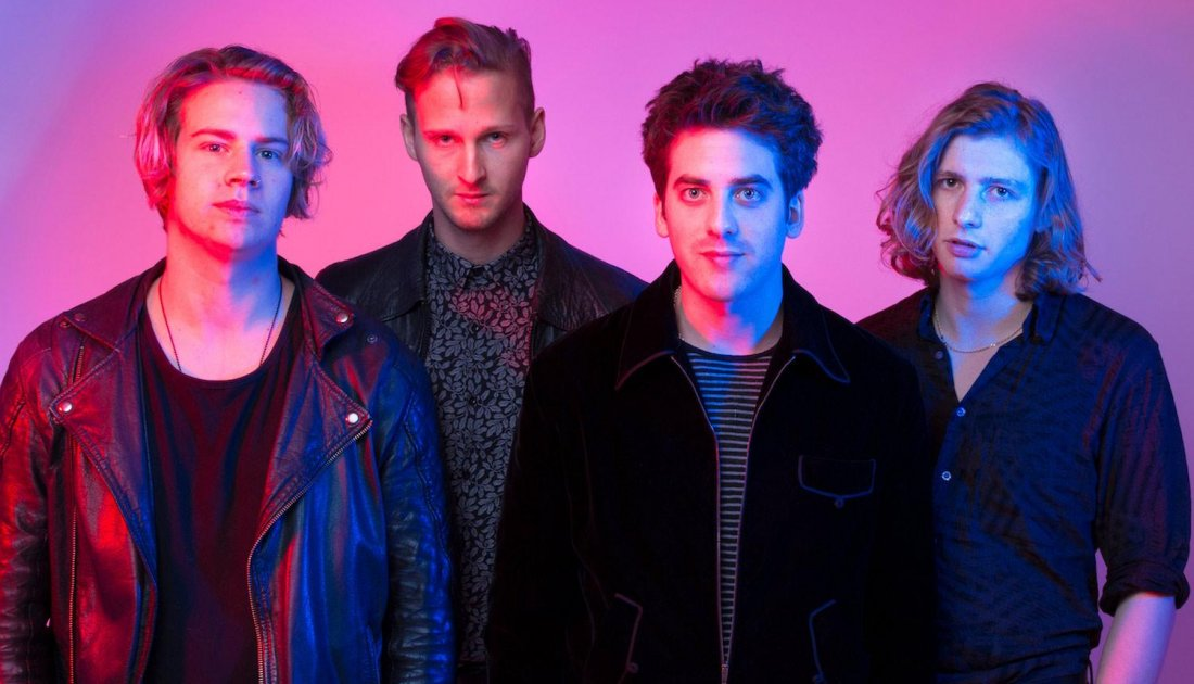 Circa Waves talk 'Different Creatures' and… bananas