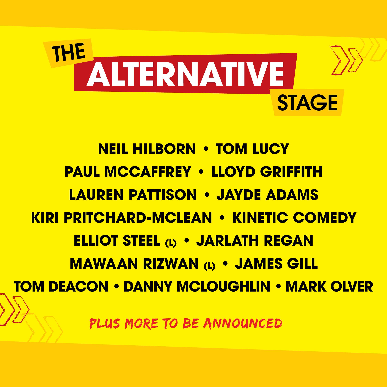 alternative stage line up