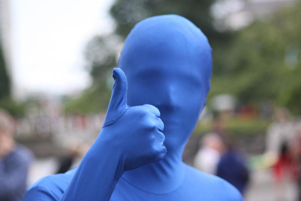 Blue Morph Suit Billy Talent Interview