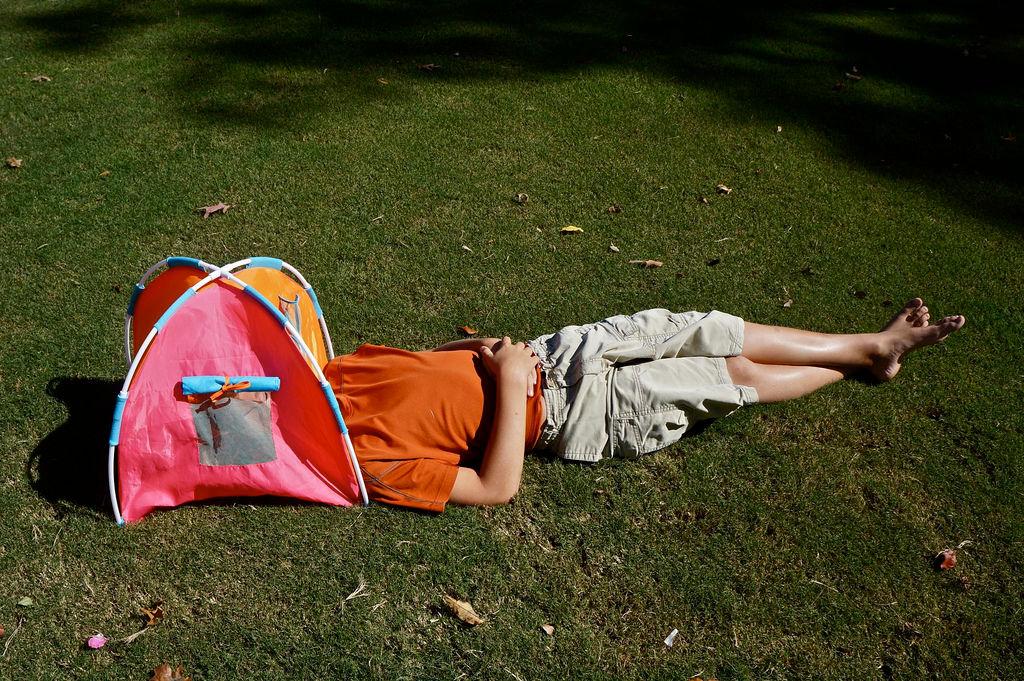 Festival Hacks Reading Tent