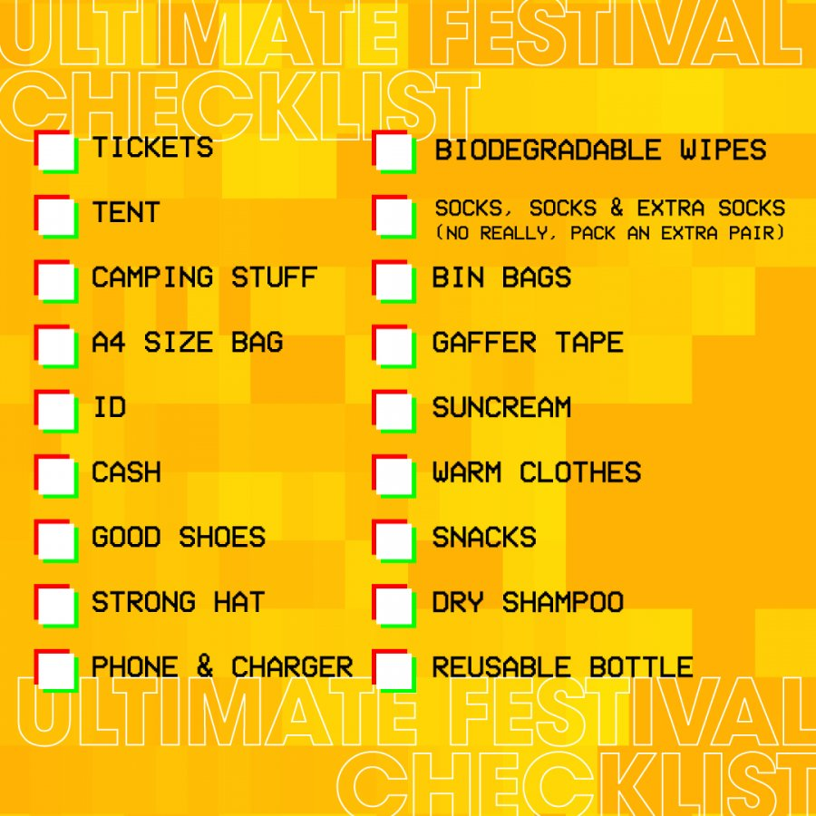 Reading-Festival-Checklist