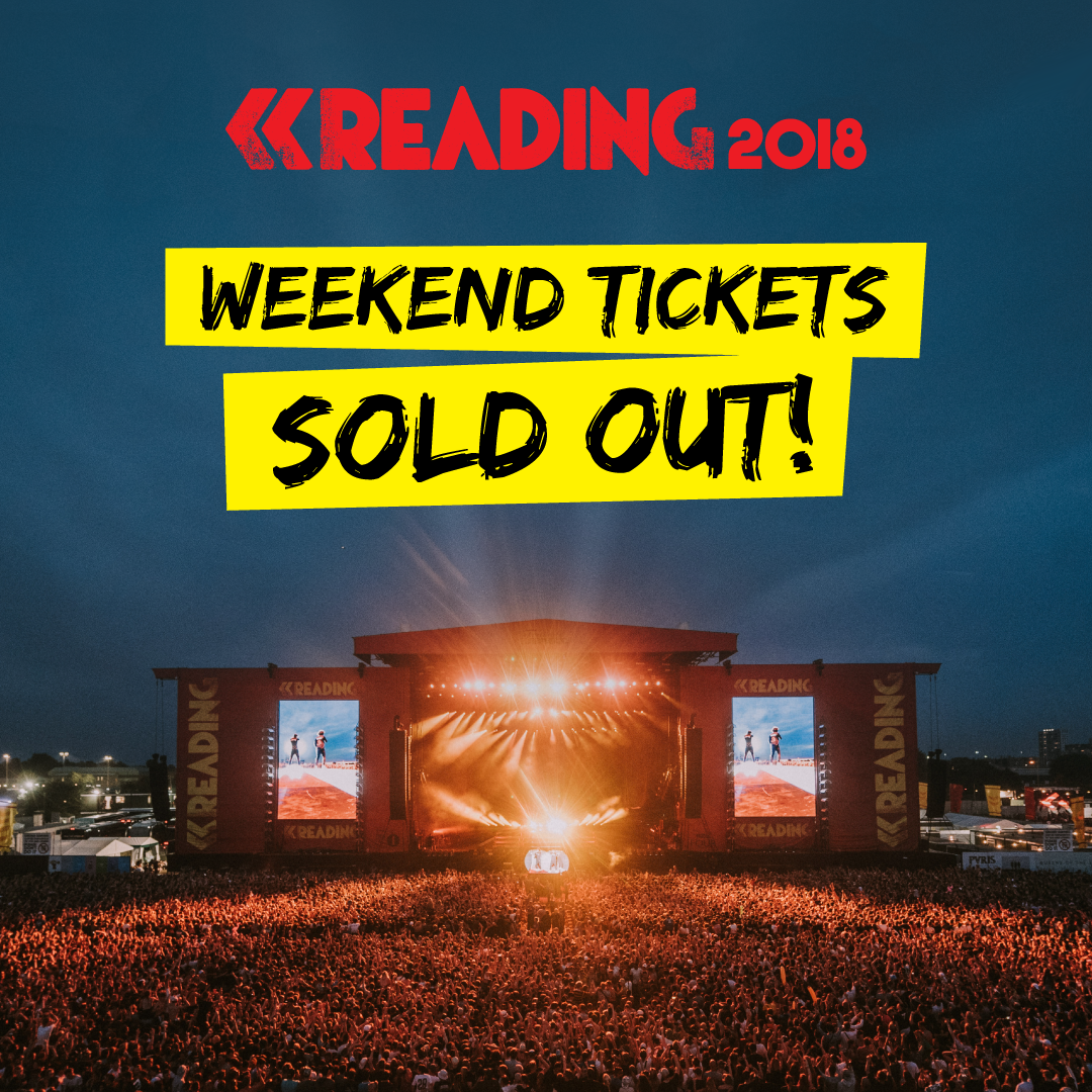 Reading Festival Sold Out