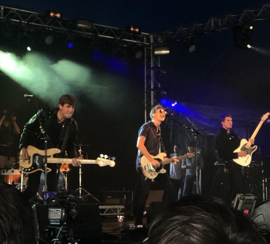 The Sherlocks taking the Festival Republic stage