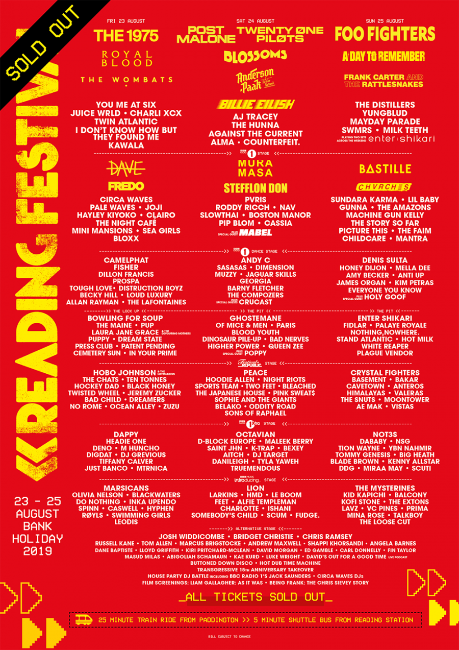 Reading Festival | Stages