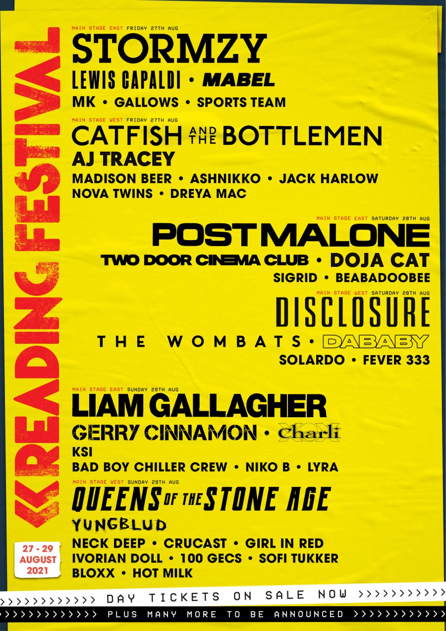 Reading-Festival-2021-Line-Up