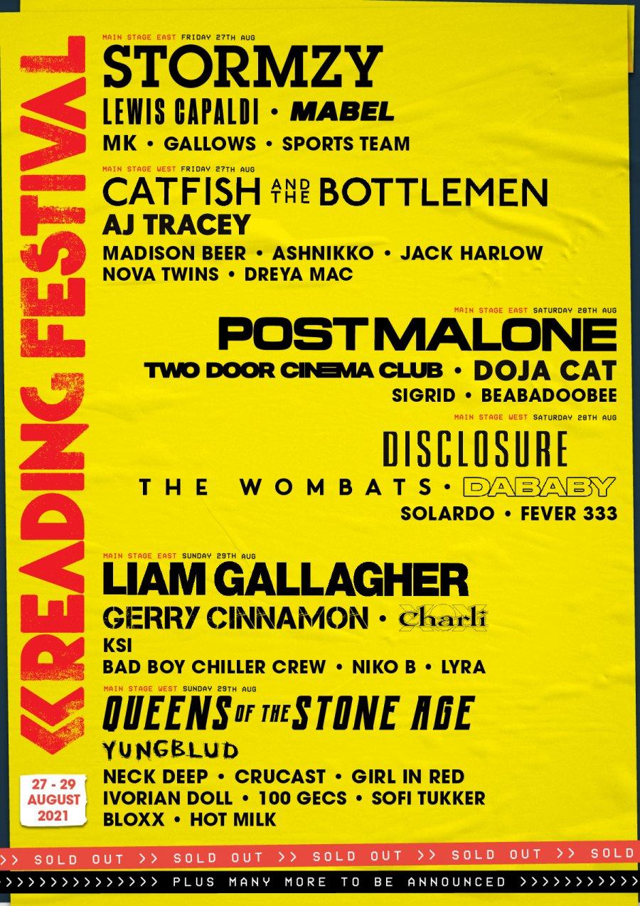 Reading Festival | Richfield Avenue » 27 - 29 August 2021
